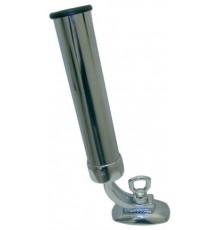 Porte-canne orientable laiton chromé tube 40mm