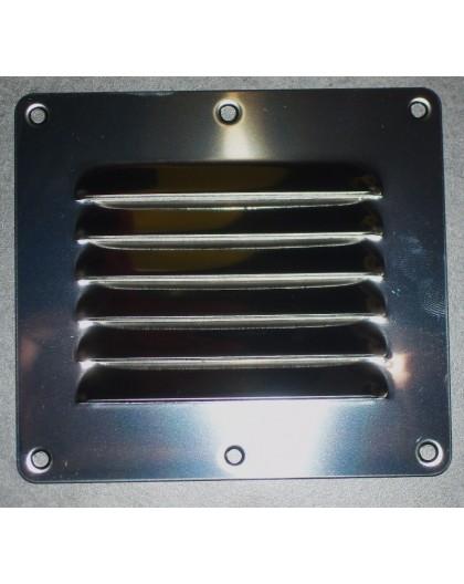 Grille de ventilation INOX 127 X 115 mm