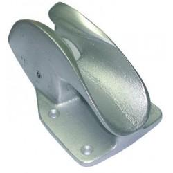 Guide chaîne ou cordage en aluminium