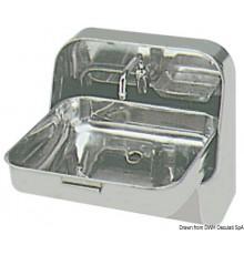 Viers et robinets pour bateaux ou camping car for Evier mural inox