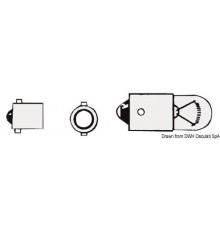 Ampoule à baïonnette 12 V 5W