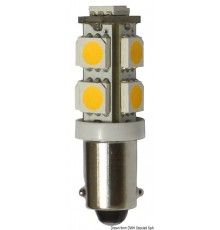Ampoule LED pour feux, feux de courtoisie et feux de navigation culot BA9S Le lot de 2