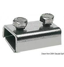 Serre-câble inox pour câbles 2/6 mm Le lot de 5