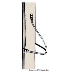 Marches de mât arrondies 6 mm
