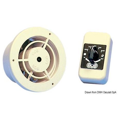 Ventilateur électrique réversible ventilation ou