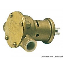 Pompe NAUCO modèle ST114, bridée, application directe sur le moteur