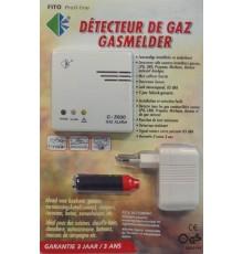 Détecteur de gaz 12/220V