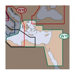 MAX Wide Méditerranée orientale, rd mer Rouge