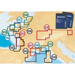 Navionics small - LACS / EUROPE DU CENTRE