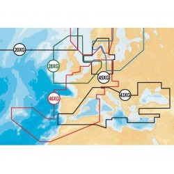 Navionics Gold - GREENLAND AND ICELAND