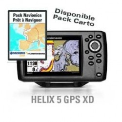 Combiné Sondeur GPS HELIX 5 XD