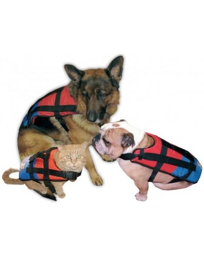 gilet de sauvetage pour chien ou chat