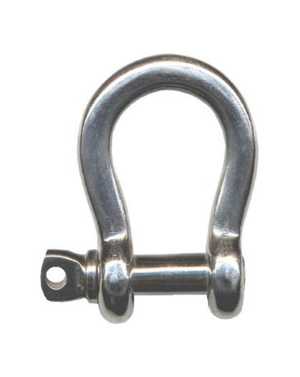 manille lyre Inox 316L