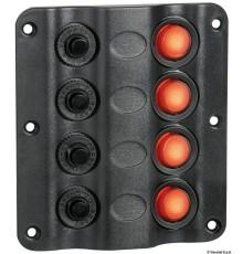 Tableau électrique Wave Design avec interrupteurs à bascule à LED