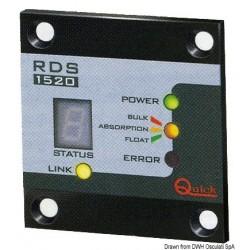 Tableau de contrôle de chargeur de batterie QUICK