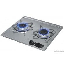 Plaques de cuisson en inox à encastrer