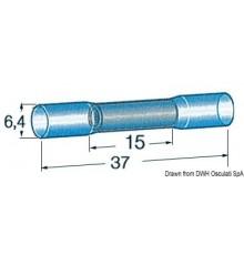 Gaine pré-isolée thermorétractable pour jonction étanche de 2 câbles