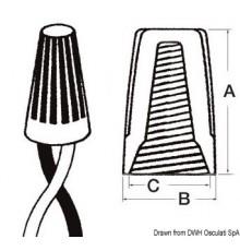 Joints pour câbles électriques en plastique