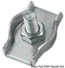 Lot Serre-câble inox double /simple