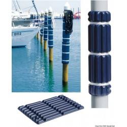 Défense pour pontons/quais en souple EVA moulé par injection