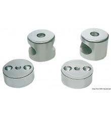 Embouts de main-courante En aluminium anodisé, en deux parties