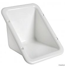 Niche à encastrer en plastique blanc pour bouchon de ravitaillement Le lot de 3