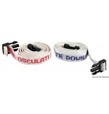 Attaches Tie Down pour fixer la grand-voile