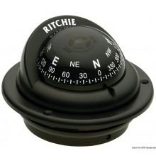 """Compas RITCHIE Trek 2"""" 1/4 (57 mm) avec compensateurs et éclairage"""