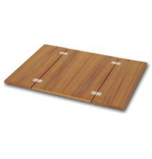 PLATEAU TABLE PLIABLE TECK