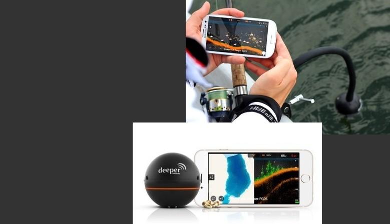Deeper Sondeur portable pour Smartphone et tablette