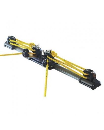Kit rail et chariot de grand voile LEWMAR taille 2