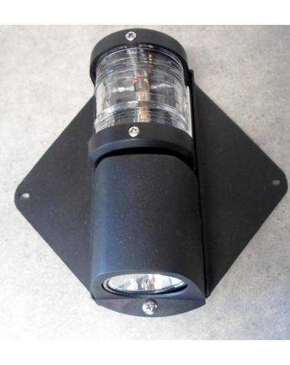 Feu de mât avec projecteur