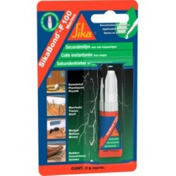 SIKABOND - F100 GEL POUR COLLAGE RAPIDE tube 3g