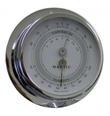 THERMO-HYGROMÈTRE INOX 83 mm