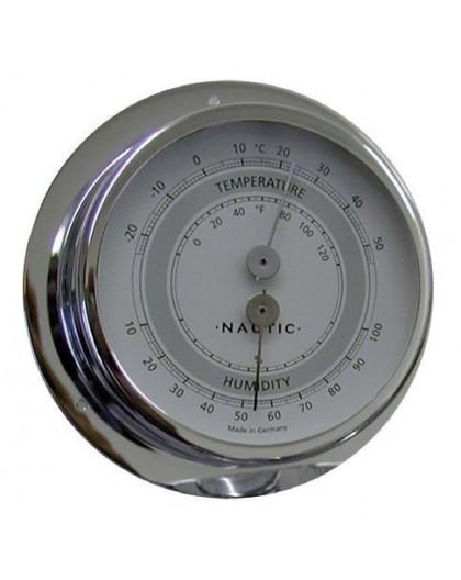 THERMO-HYGROMÈTRE INOX 83 mm
