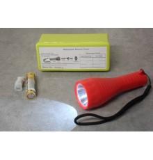 LAMPE TORCHE LED + pile et ampoule de secours