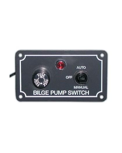 Tableau interrupteur pour pompe de cale