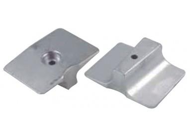 ANODE PLATINE YAM / MARINER 4T-9,9/15F-25 HP