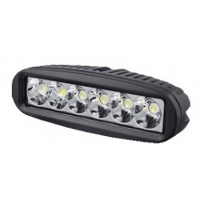 Projecteur de pont 6 LED 18W 9-32V