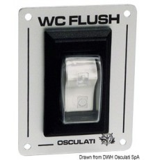 Interrupteur W.C. FLUSH
