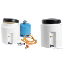 Container étanche pour bouteille de gaz