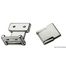 Charnière Flush Deck pour petites portes Le lot de 2