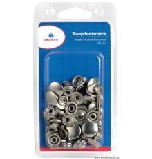 Kit 15 boutons pression Prym et outil de fixation blister Le lot de 2