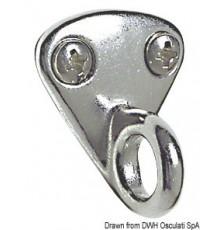 Plaquette avec anneau