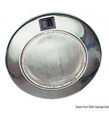 Spot rond en inox à encastrer 12 V 15 W