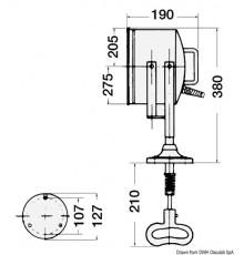 """Projecteur professionnel de grande puissance DHR8"""""""