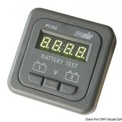 Testeur de batterie gris