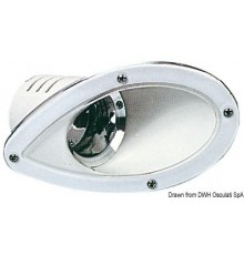 Paire projecteurs Barnegat encast. dim. réduite 12V