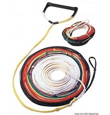 Corde 8 brins de différentes couleurs