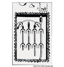 Kit de aiguilles pour voiles Le lot de 3